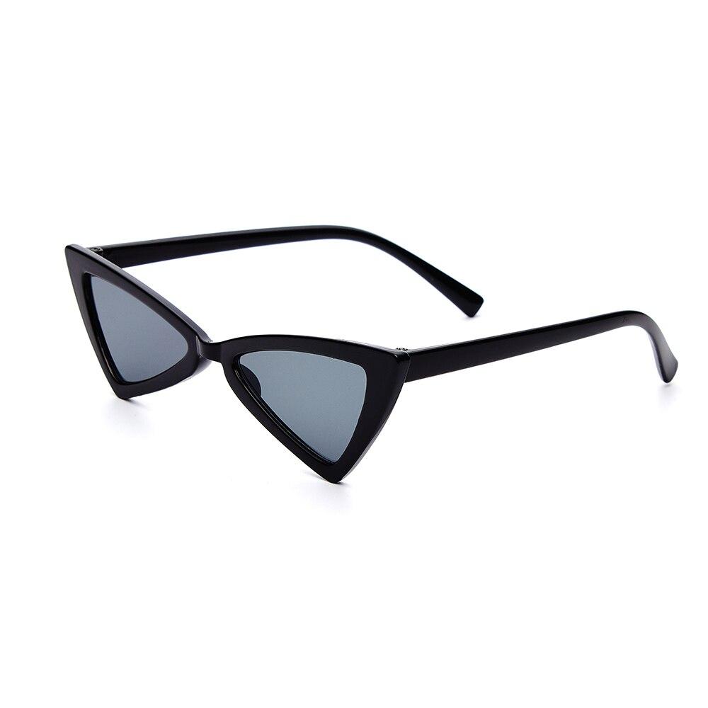 2018 Fashion Style Kids Vintage Cat Eye Sunglasses Triangle Kids Boys Girls Triangle Classic Sun Glasses For Kids Red Female