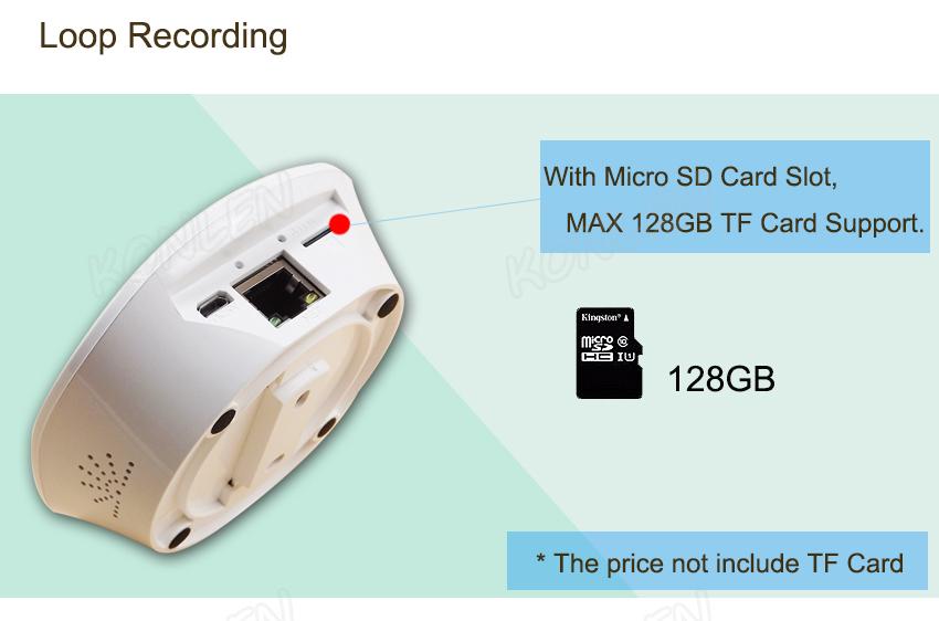 1080P 3MP IP camera video recording 6