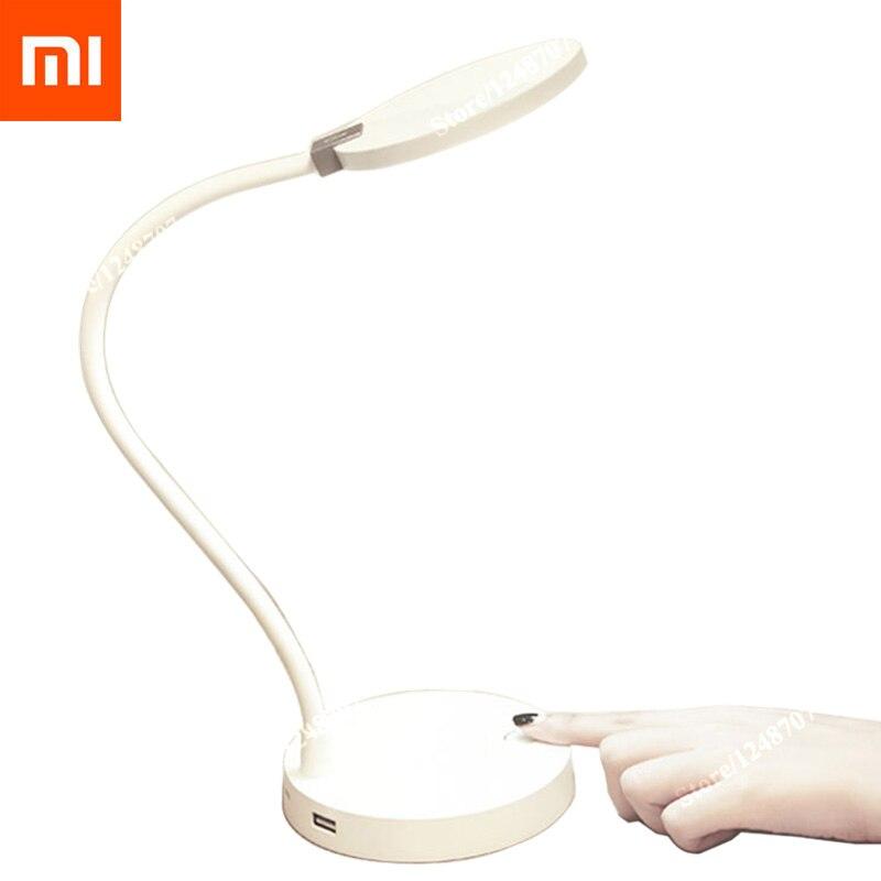 imágenes para Original xiaomi coowoo lámpara de escritorio lámpara mijia desklight led lámparas de mesa inteligente xiaomi mi 4000 mah de la batería de 8 horas de iluminación