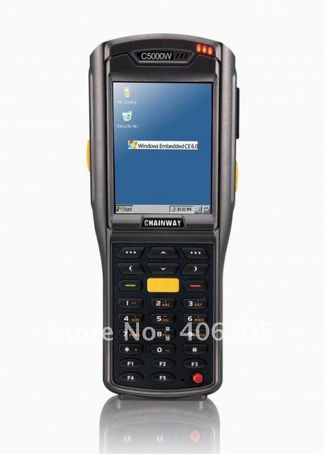 Portable Data Terminal with 1D barcode/LF 125kHz reader and WIFI+Free Shipping