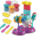 New  3d play doh lovely pop maker polymer clay tools set  plasticine  baby toys educational toys brinquedos educativos