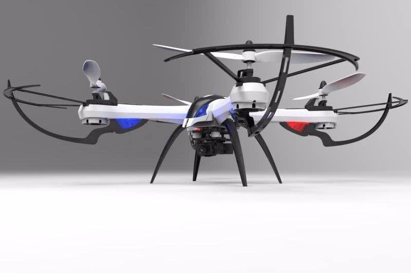 Gropo 2.4G Quadcopter IOW 4