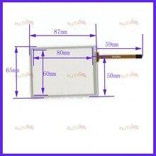 ZhiYuSun بالجملة ل Trimble TSC2 محول الأرقام شاشة تعمل باللمس إصلاح أجزاء comptable 3.8 بوصة 87 مللي متر * 65 مللي متر 5 قطعة/الوحدة