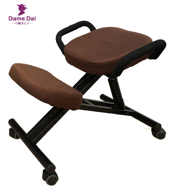 Original Ergonomic Kneeling Chair Stool With Handle Home Office Furniture Wood Computer Posture