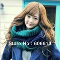 Retail New design knitted ring scarf snood winter big sizes scarves for woman and man Free Shipping