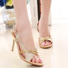 HOT Summer New Style 2016 Trendy Women's Lady Fashion Casual Stilettos Sandals Peep Toe Gladiator Stylish High-Heeled Shoes L442