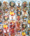 New  48pcs/set  Japanese Anime ONE PIECE Pin Badges,Round Brooch Badge Kids Clothing Accessories 4.5 cm  Free Shipping  #M01