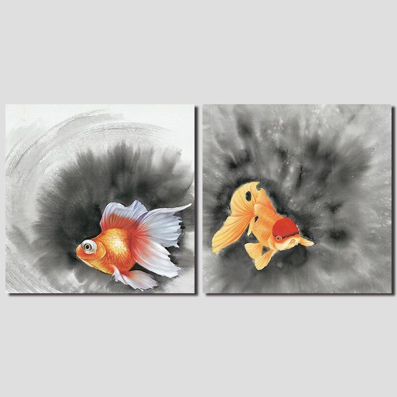 Achetez en gros chinois peinture poisson rouge en ligne for Vente poisson rouge montpellier
