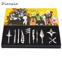 Yeni varış Naruto Metal Kunai shuriken Ninja Cosplay Aksesuar Koleksiyonu prop Oyuncak çocuk oyuncakları Dianxia