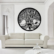 YOYOYU Tree of Life Vinyl wall stickers Tribal Circle Of life Removeable Decal Livingroom Bedroom Decoration Art Poster ZX351