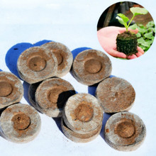 50 PCS/LOT Bonsai Soil  Fertilizer Plant organicNutritional CompressedSeeds Nursery Seedlings Garden Compound TOOLS