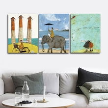 Good times about travel Wall Picture Posters and Print Canvas Painting Calligraphy Decor for Living Room Home Frameless