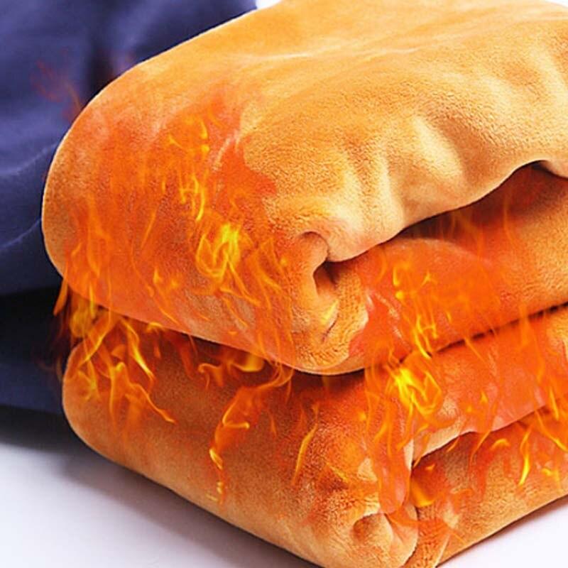 Pregnancy Leggings Winter Plus Velvet Thickening Maternity High Waist Warm Trousers For Pregnant Women Care Belly Trousers