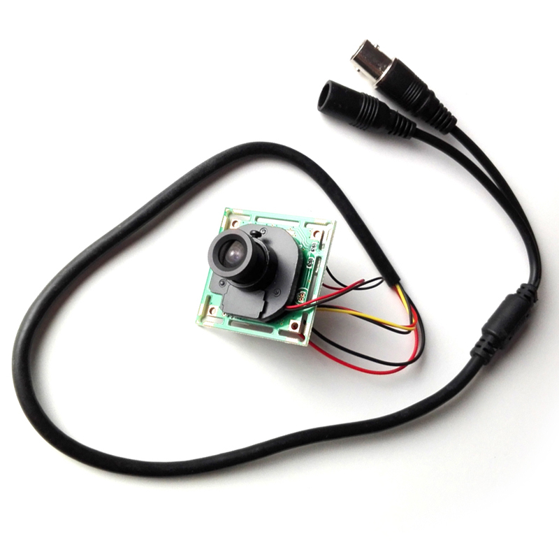 REDEAGLE 700tvl CMOS color CCTV mini Camera PCB Board Module with Lens IR CUT Filter 5 Core CableREDEAGLE 700tvl CMOS color CCTV mini Camera PCB Board Module with Lens IR CUT Filter 5 Core Cable