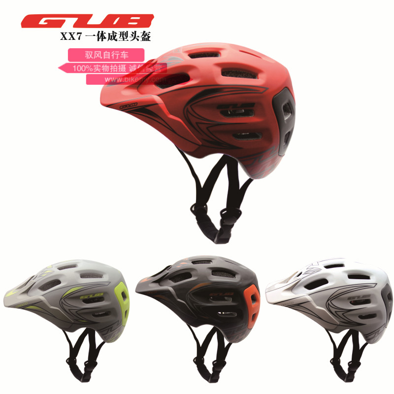 New GUB xx7 Cycling Men's Women's Helmet EPS Ultralight MTB Mountain Bike Helmet Comfort Safety Cycle Bicycle Helmet Free Size цена и фото