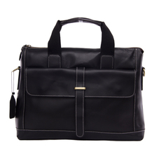 ROCKCOW Vintage Style Genuine Leather Mens Briefcase Messenger Laptop Bag Shoulder Bag 9075