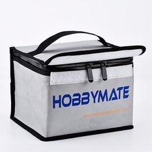 Lipo Battery Storage Fireproof Safe Guard Bag 20*15*15cm For Charging & Storage battery safe bag