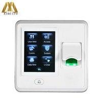 Multi Language Fingerprint Scanner for Access Control ZK SF300 ZK Optical Sensor 500DPI Home door Security System Aux. Input