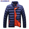 2017 New Brand Men;s Fashion Parkas Casual Stand Collar Padded Casual Outerwear Winter Jacket Men Parka Men Streetwear Overcoat
