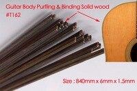 Guitar Strip Wood Purfling Binding Guitar Body Parts Inlay 840x6x1.5mm 162# 20 pcs