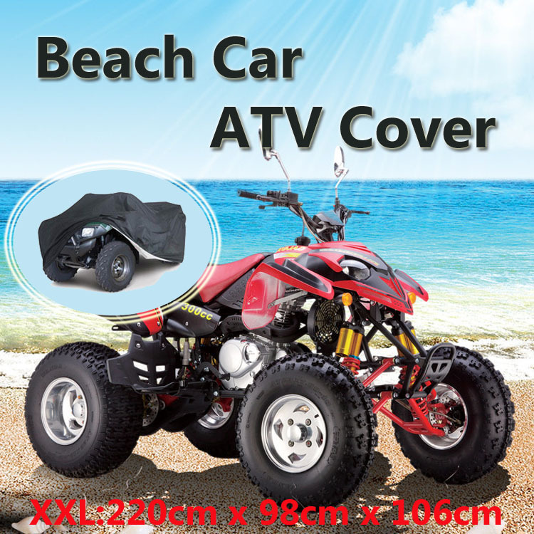 Atv Parts & Accessories 220*98*106cm Atv Car Cover Atv Rain Cover Atv Sun Cover Camouflage Silver New Beach Car Cover Xxl Automobiles & Motorcycles