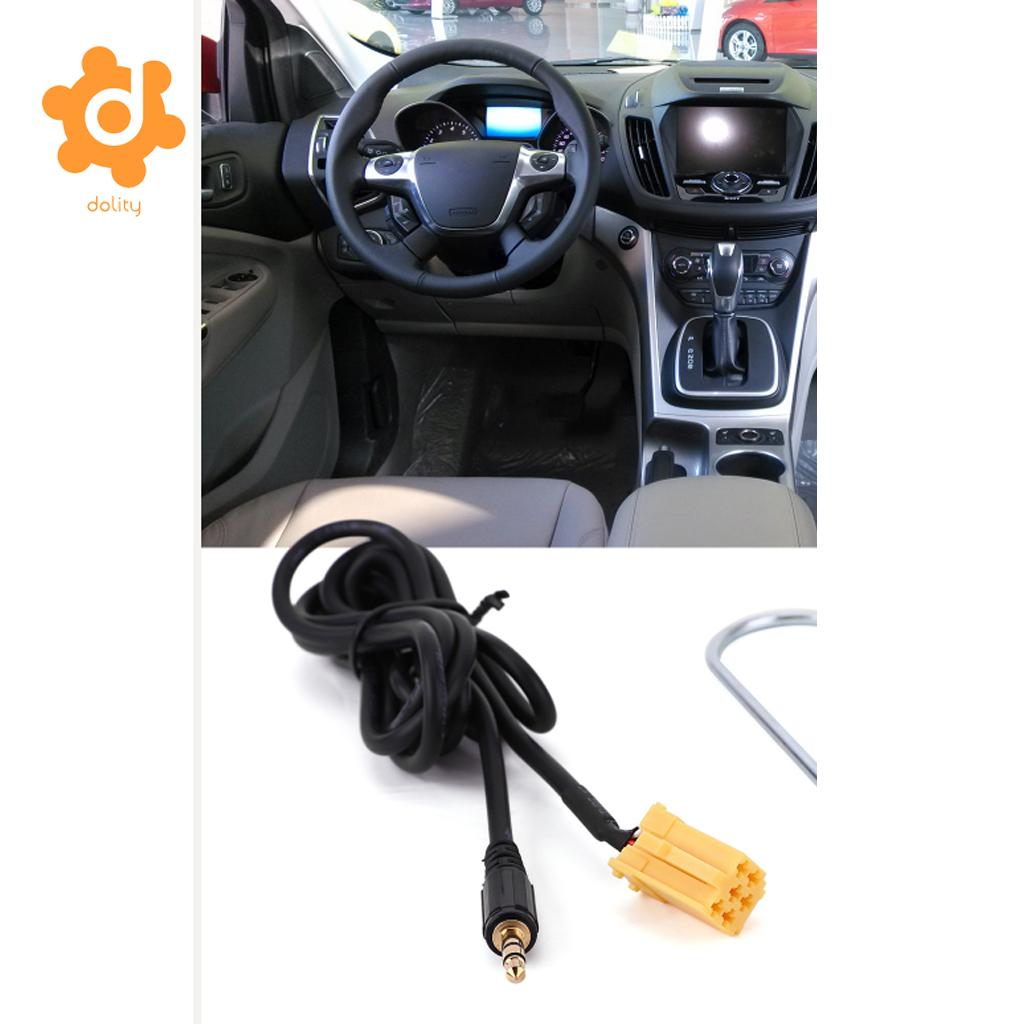 3.5 mm Aux 1.5m Cable Radio Adaptador Audio para Fiat Grande Punto MP3