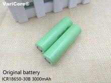 2PCS 100% Original 18650 ICR18650-30B 3000 mAh Li ion 3.7V Rechargeable Battery for Samsung flashlight use