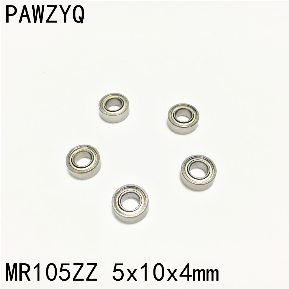 MR105ZZ Metal Shielded Deep Groove Miniature Ball Bearing 5x10x4mm