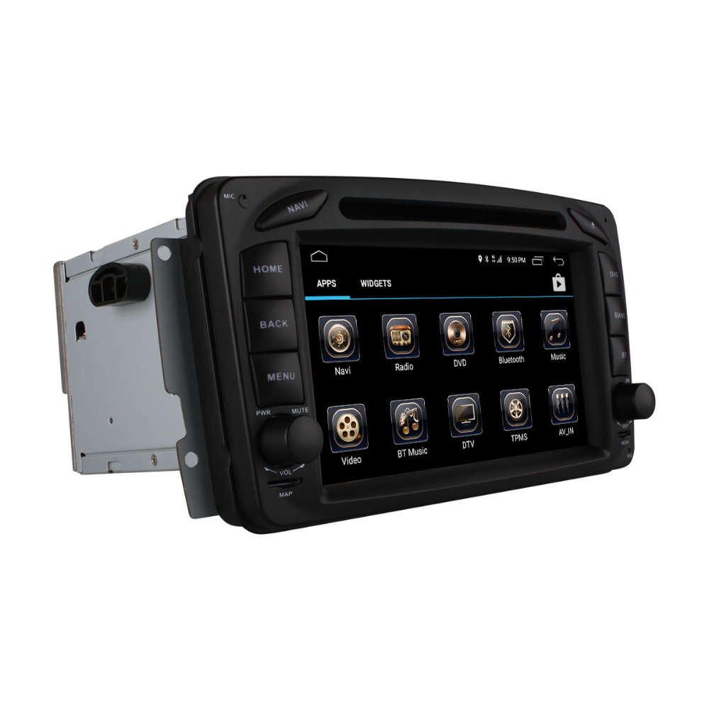Flash Deal C500 4G SIM Android 6.0 8 Core 2GB RAM Car DVD Player RDS Radio GPS Map WIFI Bluetooth For Benz W163 W168 Viano Vito W463 W210 24