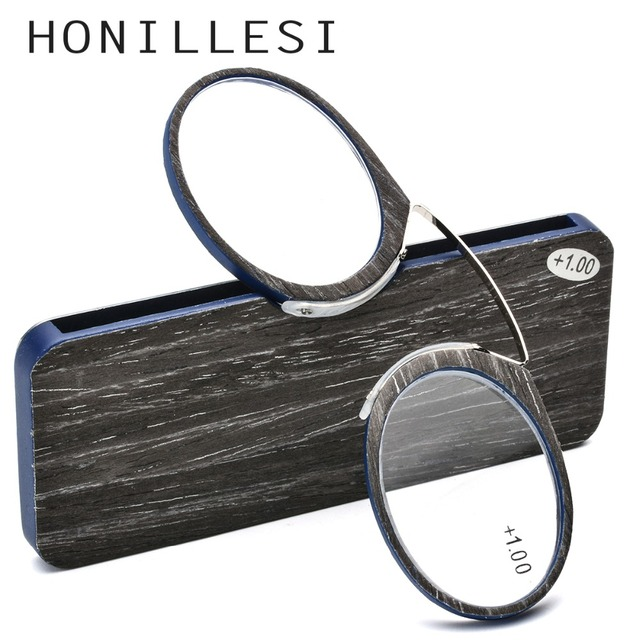 Wooden Stripe SOS Pince Nez Style Nose Resting Pinching Reading Glasses for Old Men Women USA Italy+1.0 +1.5 +2.0 +2.5 +3.0 +3.5