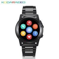 IP68 Водонепроницаемый Android gps smart watch Smartwatch наручные часы 3g SIM Wi Fi спорт Фитнес 5MP Камера H1 Сталь ремень smart watch