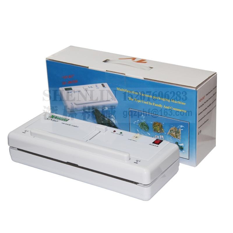 DZ-280 2SD vaakum sulgeja toidu vaakum sulgemise masin kilekoti sulgemise masin alumiinium kotid vaakum pakkija pakend