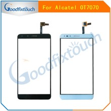 Für Alcatel Pop 4 7070 OT-7070 7070X 7070Q 7070A OT7070 Touch Panel Glas Objektiv Touchscreen Digitizer Sensor Ersatzteile(China)