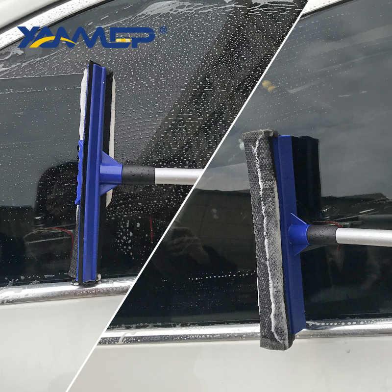 Оконная щетка для мытья автомобиля Ракель для очистки воды окна с длинной ручкой диспенсер для пены автомобильные аксессуары инструменты для чистки автомобиля Xammep