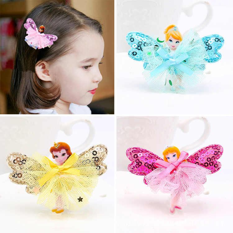 e80508c204eca 1 pc New Arrival Kids Baby Hair Clip Princess Hair Pins Accessories For  Girls Hair Ornaments