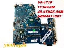 Original for ACER V5-471 V5-471P motherboard I5-3337U 11309-4M 48.4TU05.04M NBM4911007 tested good free shipping connectors