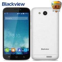 Original Blackview A5 Mobile Phone Android 6.0 3G Smartphone 4.5 inch MTK6580 Quad Core 1.3GHz 1GB RAM 8GB ROM  Bluetooth 4.0(China)