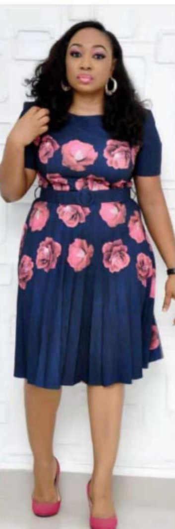 2019 новые элегантные модные стильные летние африканские женские платья с принтом больших размеров L-XXL