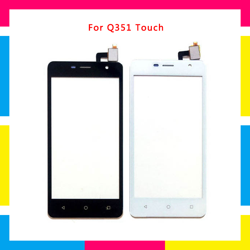 "High Quality 5.0"" For Micromax Q351 Touch Screen Digitizer Sensor Outer Glass Lens Panel"