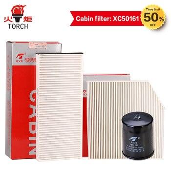 TORCH (lọc Dầu/air filter/cabin lọc) ba bộ lọc phù hợp với cho GREAT WALL HAVAL H2 1.5 T/H5 2.0L; Miễn Phí vận chuyển.