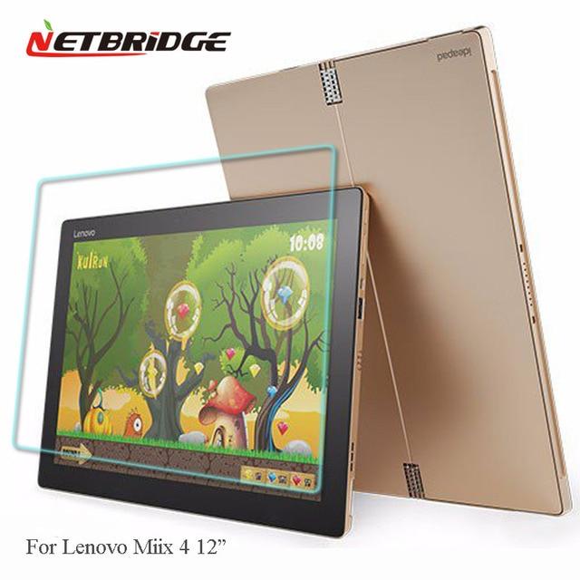 Tablet 4-6y30 vidro para lenovo miix 700 12 ''tablet pad filme protetor de tela de vidro 2.5d 9 h dureza vidro temperado