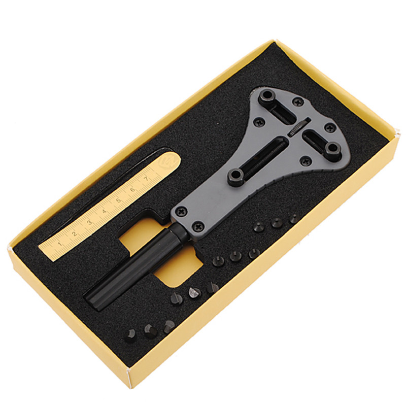 Best Promotion Waterproof Screw Case Back Opener Watch Repair tool Steel Watch Back Case Opener Kit Remover Hot sale цены онлайн
