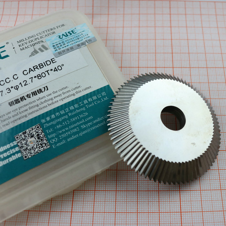Original Raise Tungsten steel double angle cutter 0010CC C milling cutter for WenXing Key Machine 233