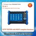 Multi-functional IPC-8600MOVTADHS 7''  touch Screen IP IPC Analog TVI CVI AHD SDI Camera Tester CCTV Security Test Monitor