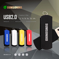 SUMSONIKO USB Flash Drive Rotation 5 Colors Pen Drive Custom Gift Memory Stick 64GB 32GB 16GB 8GB 4GB 2GB 1GB USB 2.0 Can Track