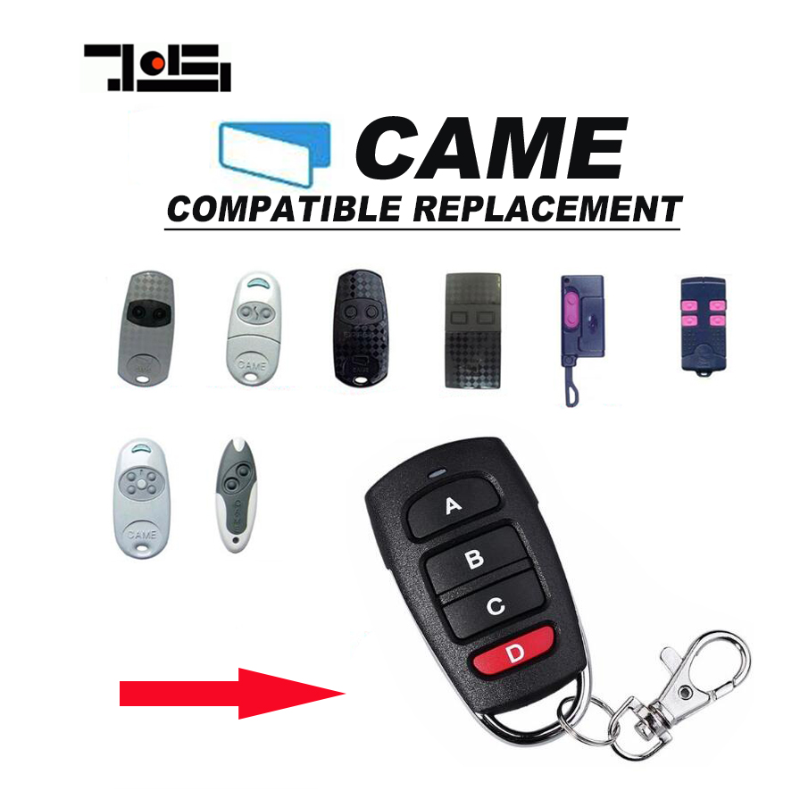10pcs Duplicator Copy CAME remote control TOP432EV TOP432EE TOP432NA With Battery Key Fob free shipping
