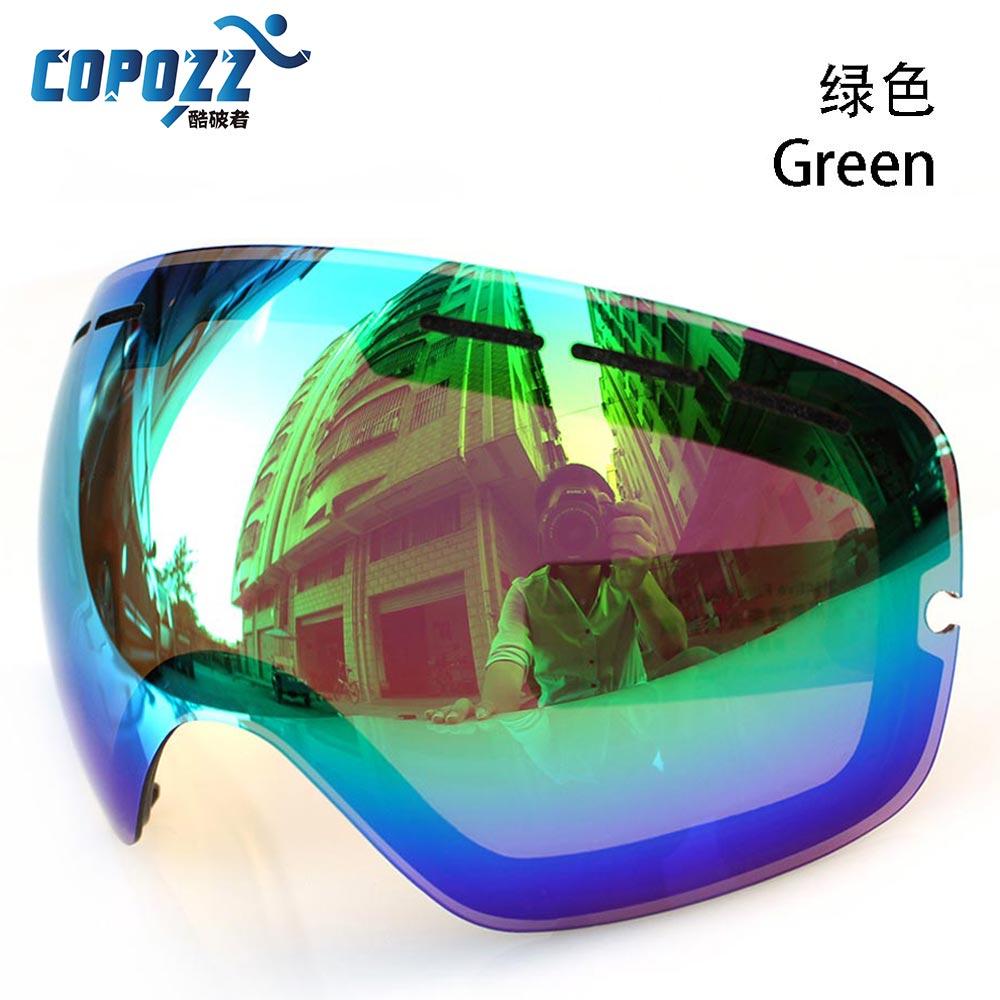 esquí antiniebla para moto de nieve para COPOZZ GOG-201 UV400 - Ropa deportiva y accesorios - foto 6