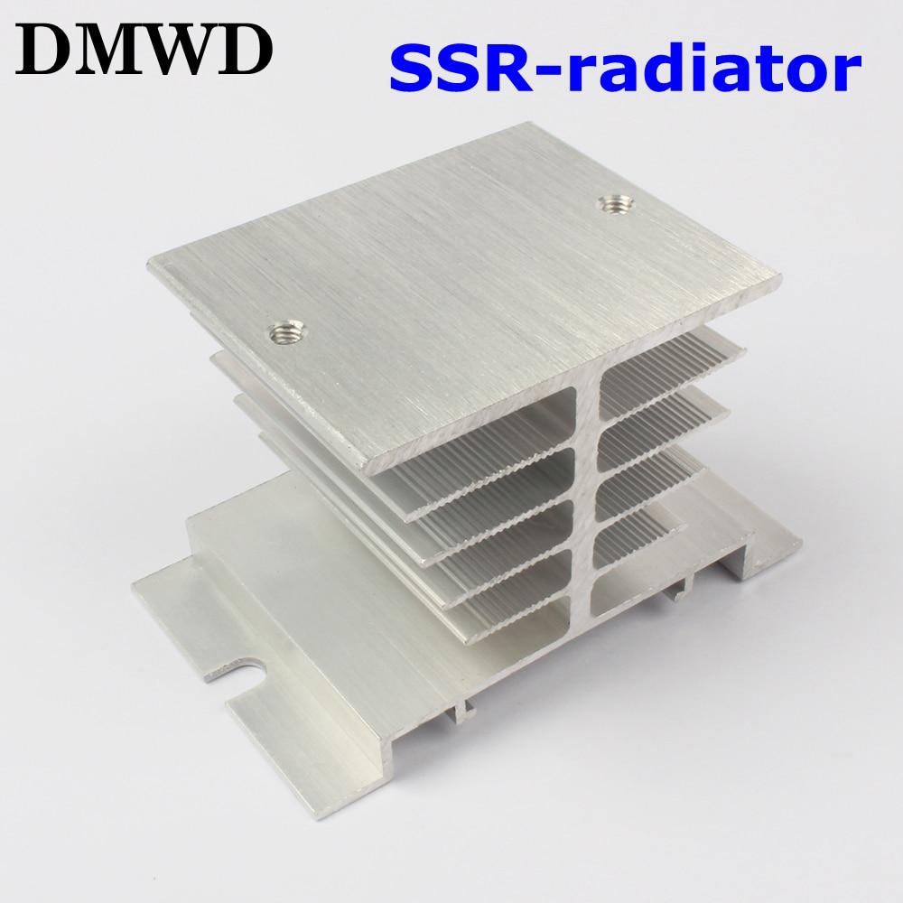 1pcs Free shipping SSR soild state relay radiator radiator fin  other spare parts mini free shipping 1pcs am5200iaj44hm refurbish parts yf0716 relay