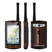 China Kcosit W305 Analog DMR Digital Dual Mode Walkie Talkie Phone UHF IP68 Waterproof Android 5.1 Smartphone Rugged 4G 5000mAH