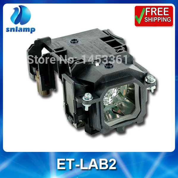 Replacement projector bulb lamp with housing ET-LAB2 for PT-LB1 PT-LB2 PT-LB1EA PT-LB2EA PT-ST10 PT-LB3 free shipping projector lamp projector bulb with housing et laa410 fit for pt ae8000 pt ae8000u